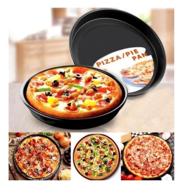 Khuôn Pizza / Khay Pizza Chống Dính Nhiều Size