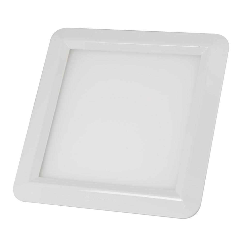 Đèn LED Panel Rạng Đông Vuông Siêu Mỏng 12W 160x160mm, Ánh Sáng Trắng/Vàng (S)