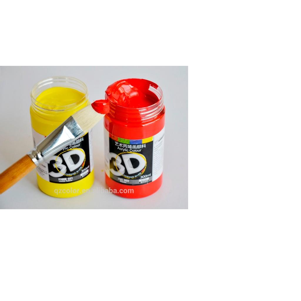 MÀU ACRYLIC 3D LỌ 300ML - 3100276 , 566053813 , 322_566053813 , 86000 , MAU-ACRYLIC-3D-LO-300ML-322_566053813 , shopee.vn , MÀU ACRYLIC 3D LỌ 300ML