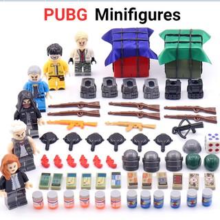 Lắp ráp Lego Pubg 6 nhân vật trong game 2018 230 mảnh ghép