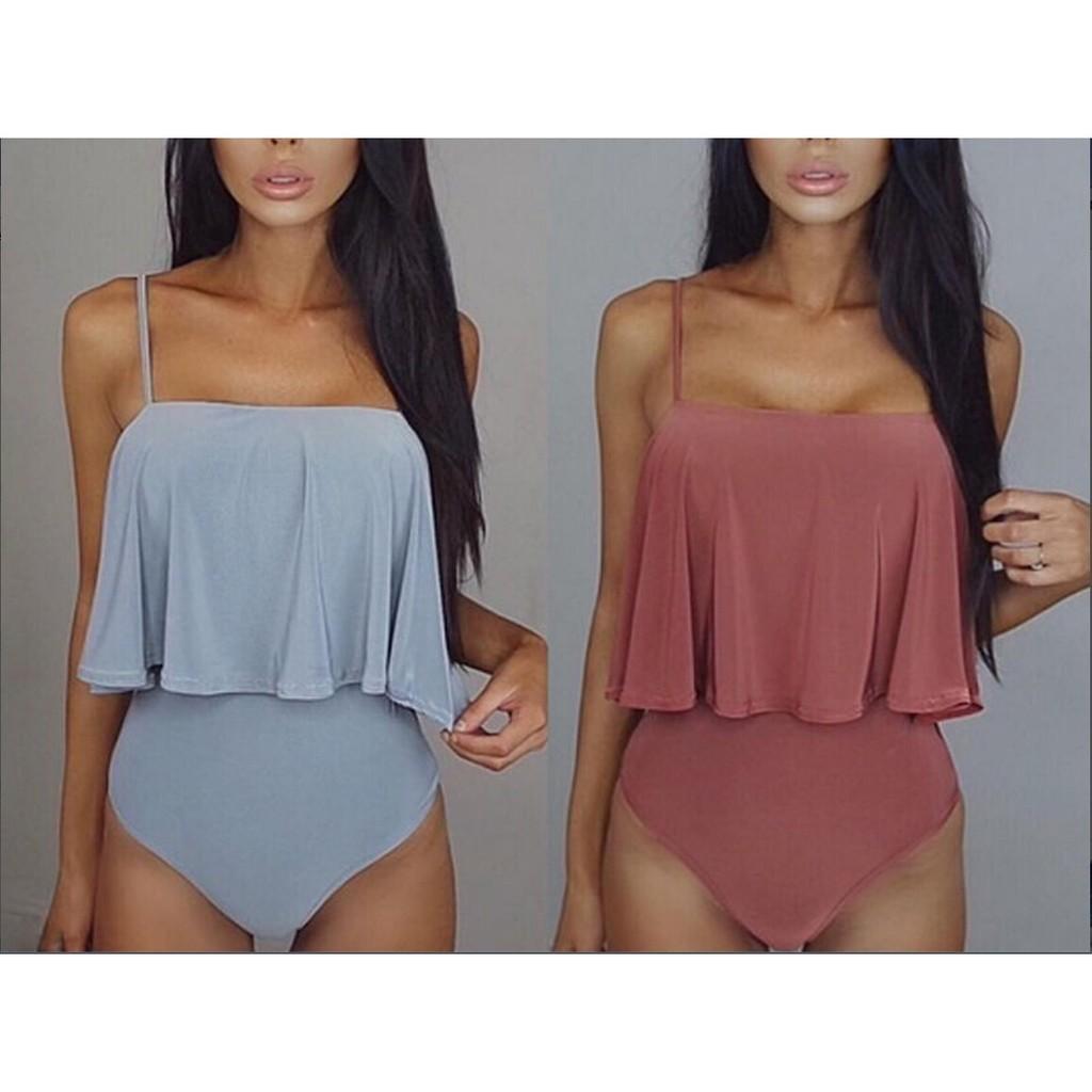 Mặc gì đẹp: Tắm biển vui với Đồ tắm một mảnh trơn màu kiểu dáng thời trang dành cho nữ