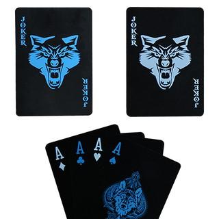 Bài Poker Wolf Bài nhựa siêu bền chống nước