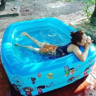 Bể bơi loại to m8 -Rẻ nhất