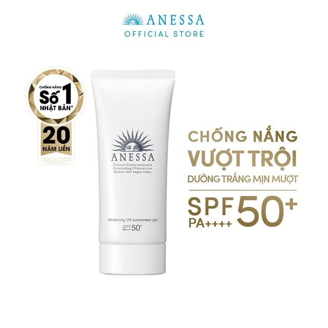 Gel chống nắng dưỡng trắng Anessa Whitening UV Sunscreen Gel 90g | Shopee  Việt Nam
