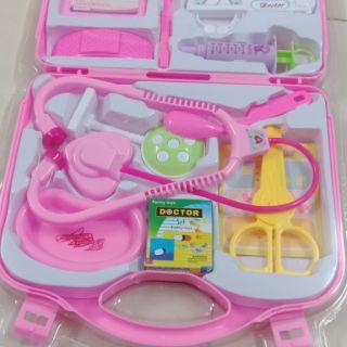 Hộp đồ chơi bác sĩ cho bé