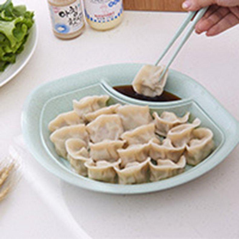 SPY Fan Shaped Drain Double Layer Dumplings Dish Wheat Straw Fruit Tray Plate - 14277822 , 2706301307 , 322_2706301307 , 81700 , SPY-Fan-Shaped-Drain-Double-Layer-Dumplings-Dish-Wheat-Straw-Fruit-Tray-Plate-322_2706301307 , shopee.vn , SPY Fan Shaped Drain Double Layer Dumplings Dish Wheat Straw Fruit Tray Plate