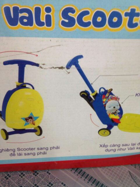Vali scooter new - Thanh lý