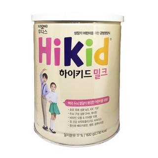 Sữa Hikid hộp 600g vị vani (Hàn Quốc)