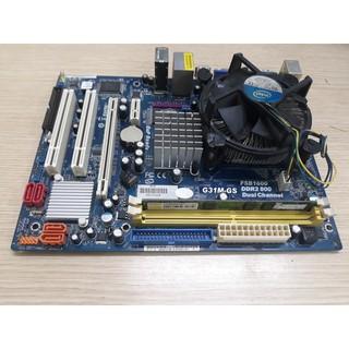 [Mã 1010ELSALE hoàn 7% đơn 300K] Combo main Asrock G31 + ram 2gb + CPU E5300 + Quạt +Fe cũ còn sài tốt thumbnail