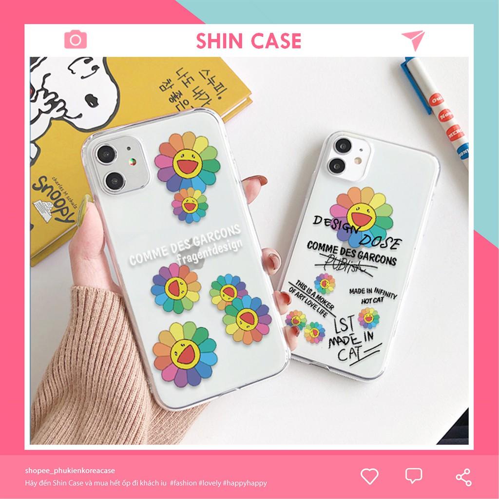 Ốp lưng iphone Hoa Bảy Màu 5/5s/6/6plus/6s/6s plus/6/7/7plus/8/8plus/x/xs/xs max/11/11 pro/11 promax – Shin Case