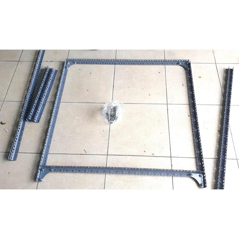 Cây sắt V lỗ (V3 - V4) , sắt V đa năng, thanh V lỗ, sắt V làm kệ, mâm V lỗ, ốc V lỗ, sắt V lỗ