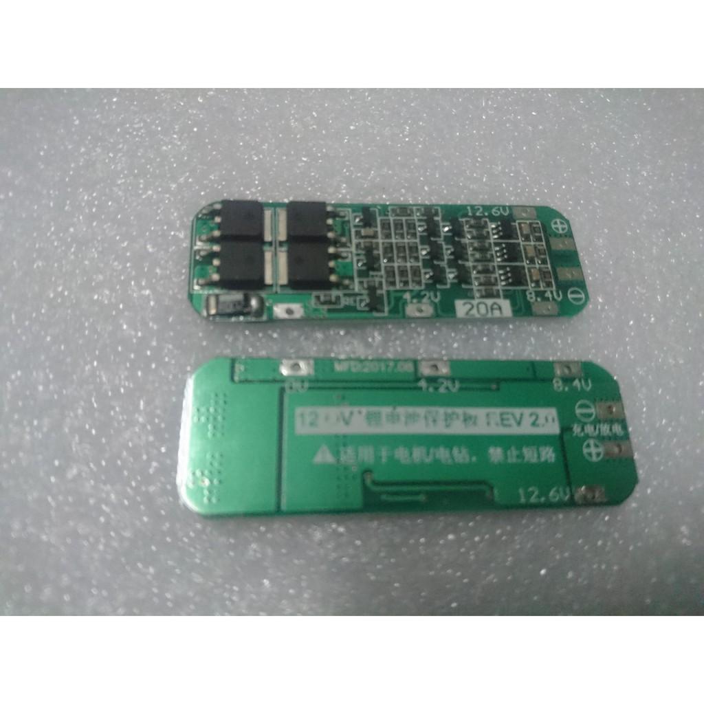 Mạch bảo vệ pin li-ion 3S - 3067218 , 1174537977 , 322_1174537977 , 32000 , Mach-bao-ve-pin-li-ion-3S-322_1174537977 , shopee.vn , Mạch bảo vệ pin li-ion 3S