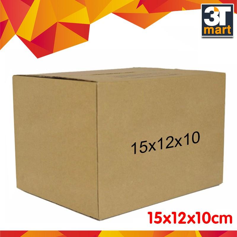 Bộ 30 thùng carton size 1 - 15x12x10cm