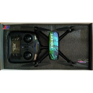 Flycam JXD 518 Tracker GPS 720P HD camera màu xanh