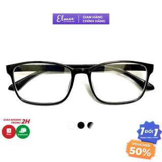 Gọng kính cận chữ nhật Elmee E19026 - gọng dẻo màu sắc basic thumbnail