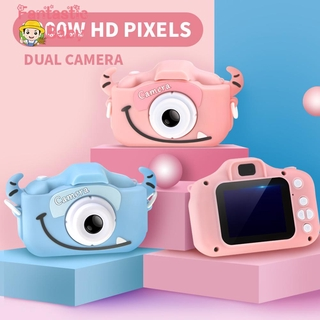 Children Cartoon Camera 2.0 inch 1080P HD Color Screen Video 12 MP Kids Photography Birthday Gifts