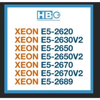 Bộ Xử Lý Intel® Xeon® E5-2620, E5-2630V2, E5-2650, E5-2650V2, E5-2670V2, E5-2689