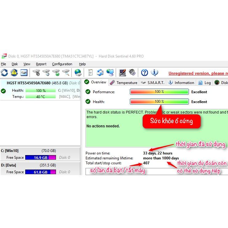 Ổ cứng laptop Hitachi HGST 750gb 80gb 120gb 160gb 250gb 320gb 500gb 640gb HDD tồn kho Nhật bảo hành 6 tháng