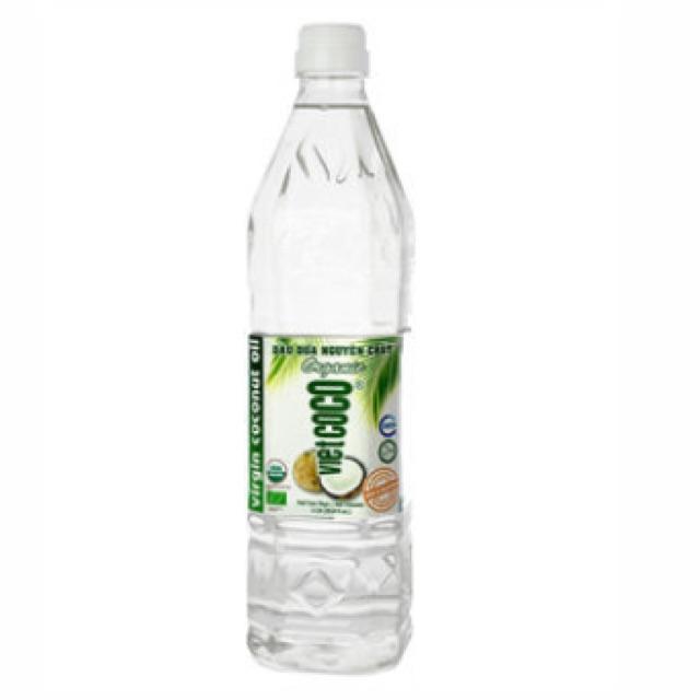 Dầu dừa nguyên chất VietCoCo Organic 1L
