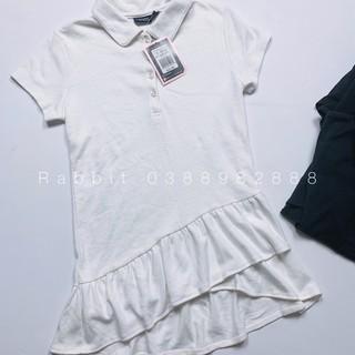 Váy thun cổ lật - RABBITSHOP