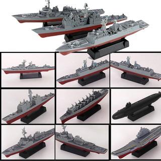 Mô hình quân sự tàu sân bay, tàu chiến, tàu ngầm , tàu khu trục, tàu tuần dương, Mô hình lắp ráp 4D nhựa tỷ lệ 1 1300 thumbnail