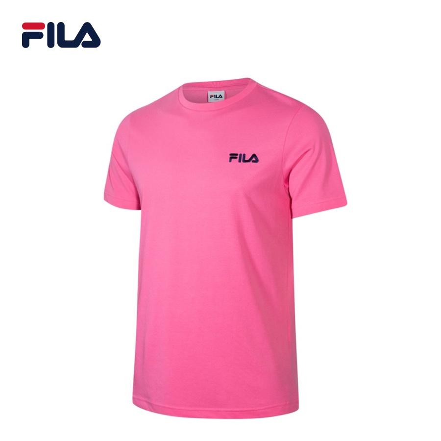 Áo thun tay ngắn unisex Fila Box Logo - BTS Global Inline - FS2RSC2125X-NEON/PK