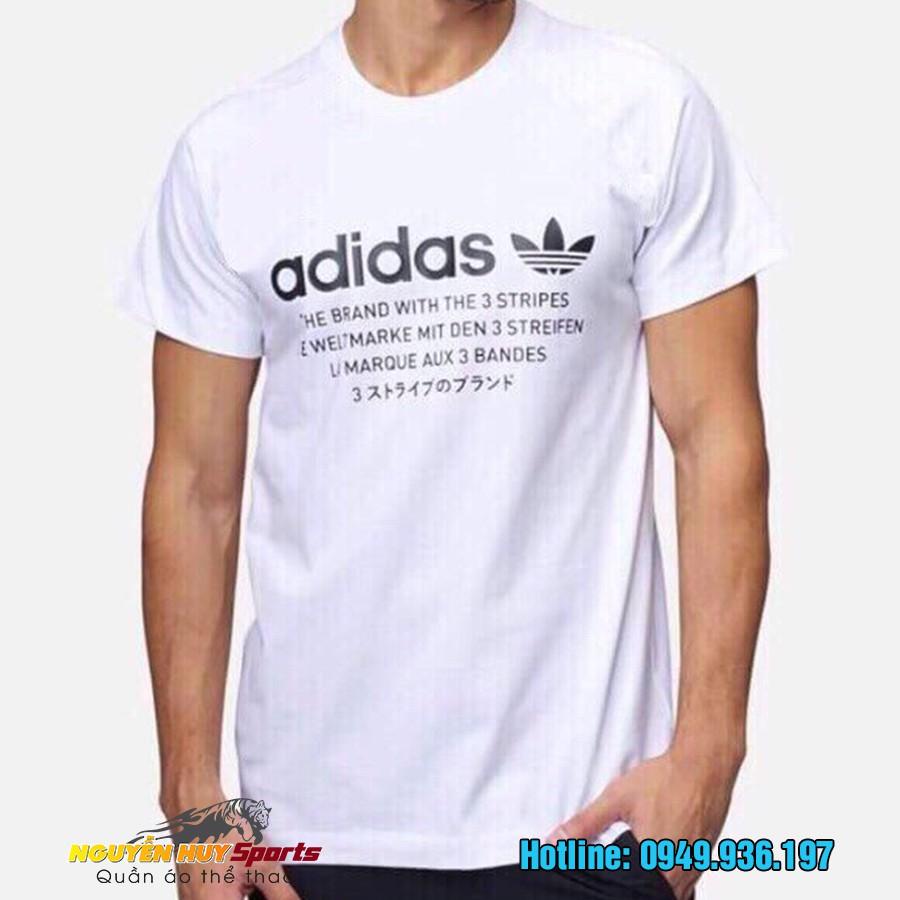 Áo Adidas cổ tròn cao cấp