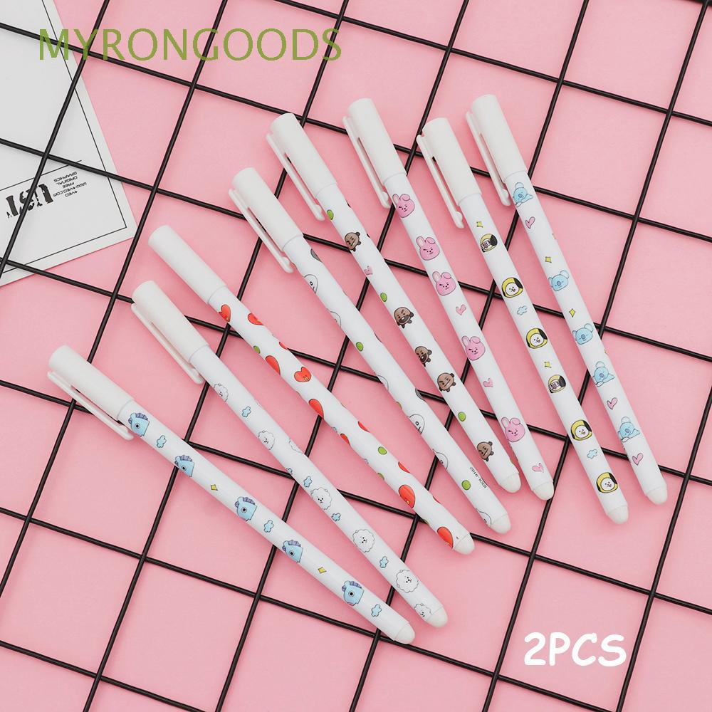 Stationery K-pop Signature Photo Writing Tool BT21 Gel Pen