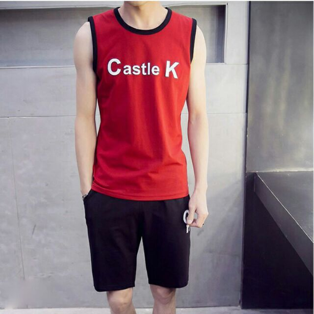 BỘ THỂ THAO CASTLE K + 100% COTTON - Bộ thể thao