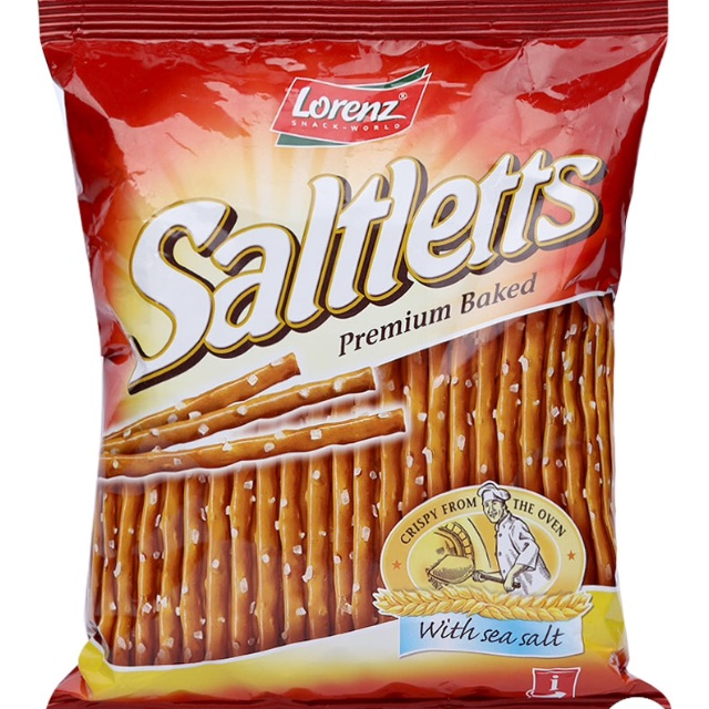 Bánh que Saltletts Lorenz 150g