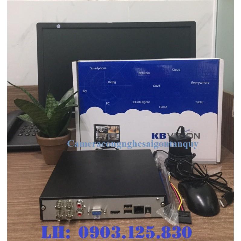 Đầu ghi hình 4 kênh 5 trong 1 KBVISION KX-7104SD6