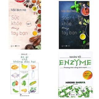 Sách - Combo 4 cuốn Ăn gì cho không độc hại+ phương thức sống lành mạnh+ Sức khỏe trong tay bạn 2 tập.(lẻ, tùy chọn) thumbnail