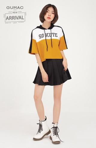 Chân váy nữ xếp ly GUMAC phong cách Hàn Quốc năng động VB443 thumbnail