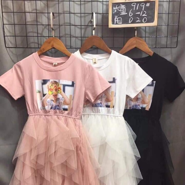 Váy xinh cho công chúa