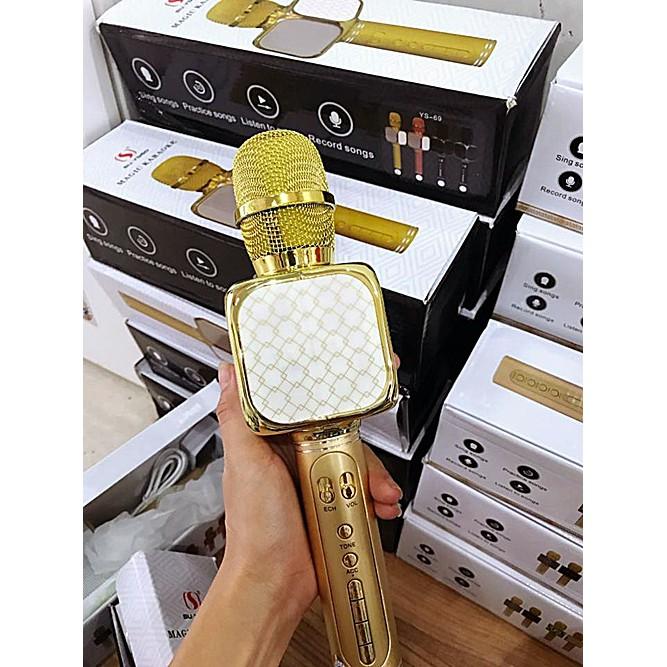 Micro hát karaoke hay và âm vang YS-69