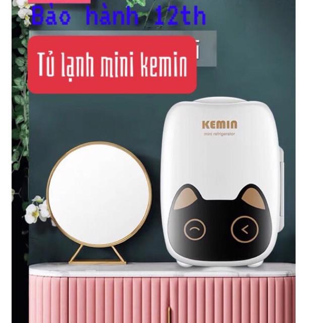Tủ lạnh mini bảo quản sữa mẹ, mỹ phẩm KEMIN 6L cao cấp