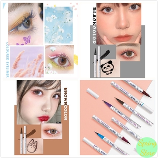 Waterproof Oil-proof Quick-drying Easy To Remove Multi-color Eyeliner Pen Makeup Tool
