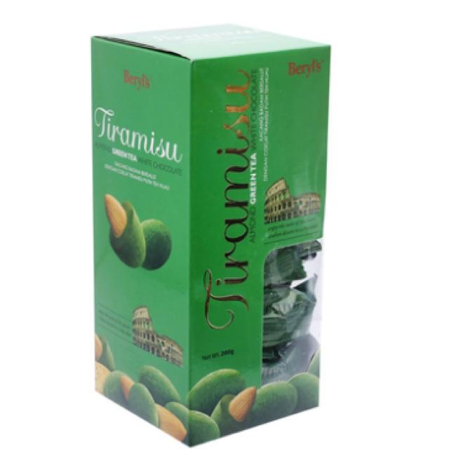 Sô cô la Tiramisu Almond Green Tea White Chocolate Beryl