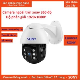 Camera wifi PTZ 19HS200 xoay 360 độ ngoài trời chuẩn FullHD1080p-2.0Mpx-200 chống nước cực tốt (SONY 19HS)