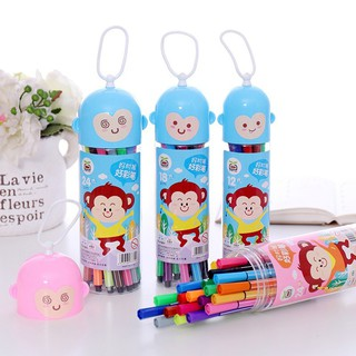 KIDSCLOTHING Children 24/18/12 Color Washable Mark Paint Pen