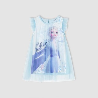 Đầm váy Elsa sát nách bé gái Rabity 5156.5384