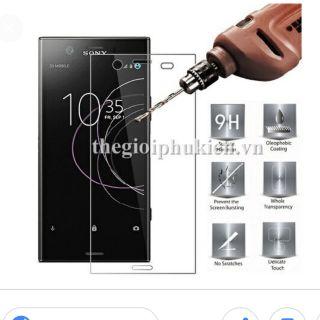 Bộ 2 kính cường lực Sony XZ1 Tặng 1 ốp dẻo