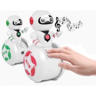Robot Lật đật phát nhạc phát sáng
