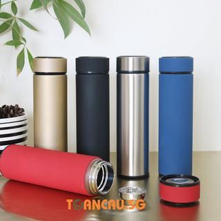 Bình giữ nhiệt inox 304 - Bình nước giữ nhiệt inox 500ml Cao cấp giữ nóng lạnh
