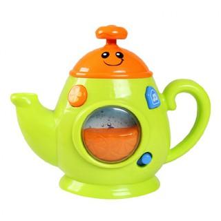Đồ chơi ấm trà có nhạc 0754 hiệu Winfun- Màu xanh thumbnail