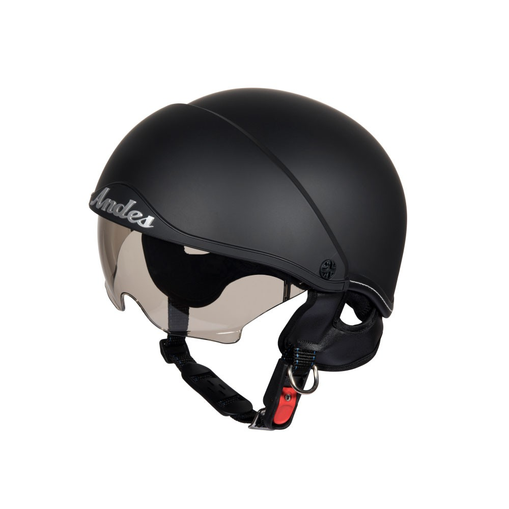 Mũ bảo hiểm nửa đầu có kính ANDES 3S-139 Nhám