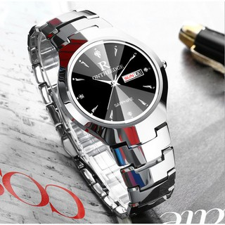 Đồng hồ nam Ontheedge dây đá siêu mỏng kính Sapphire (fullbox, trắng-đen) thumbnail