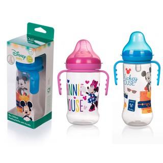 Bình sữa DISNEY có tay cầm cổ thường cổ rộng (125ml, 250ml) thumbnail