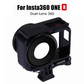 2020 Insta 360 ONE R Mounting Bracket Frame+Dual Lens Guards Protective Cover For Insta360 R Dual-Lens 360 Mod Accessories【oy】