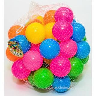 Bóng nhựa nhỏ cho bé, bóng bể bơi 100 quả sato